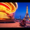 Fairground ride in Paris
