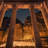 Petra by Night - Inside the Treasury