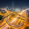 Interconnected - Dubai Junction Light Trails