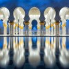 Clear Mosque Reflections