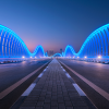 Fit For a Sheik - Meydan Bridge, Dubai