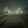 A Spooky Country Train Station