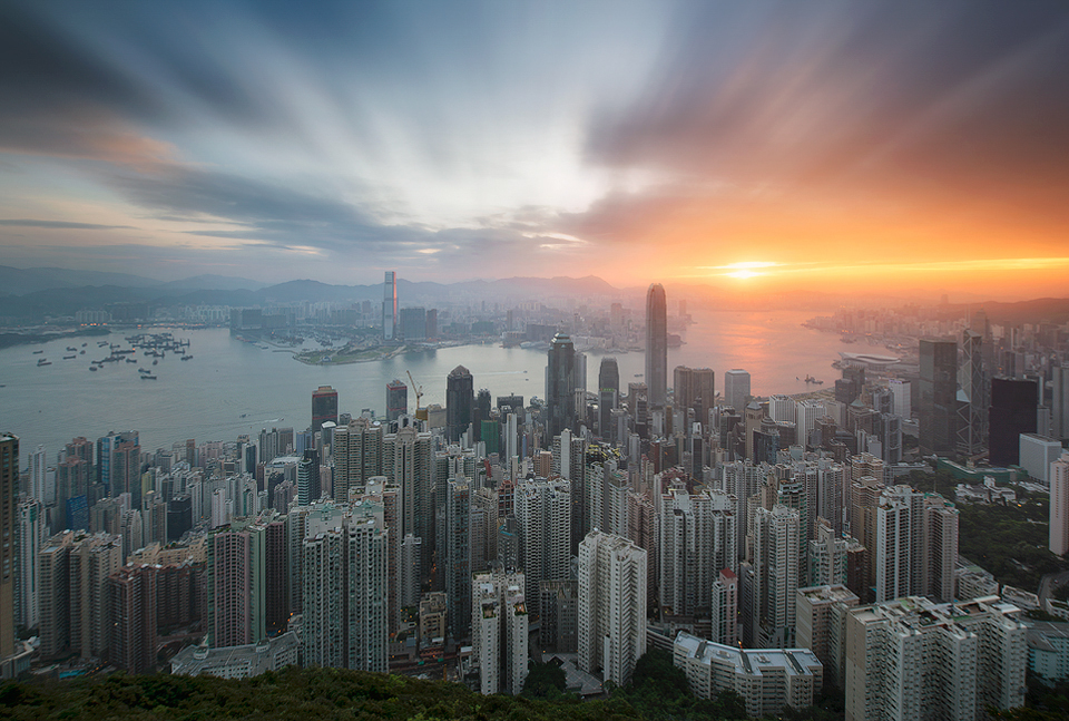 hong kong sunrise - version 2 - tsl
