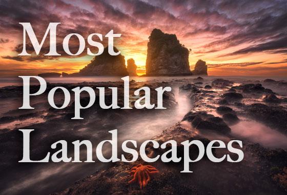 most popular landscapes