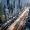 Futuristic Tron Cityscape