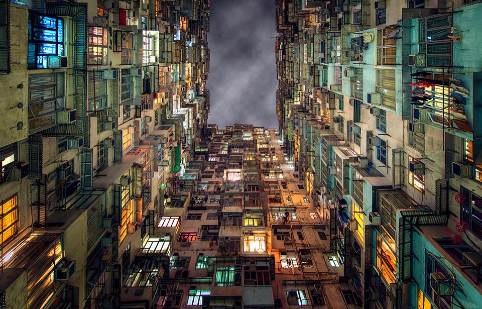 Crooked Apartments In Hong Kong - TSL - Post-Processing