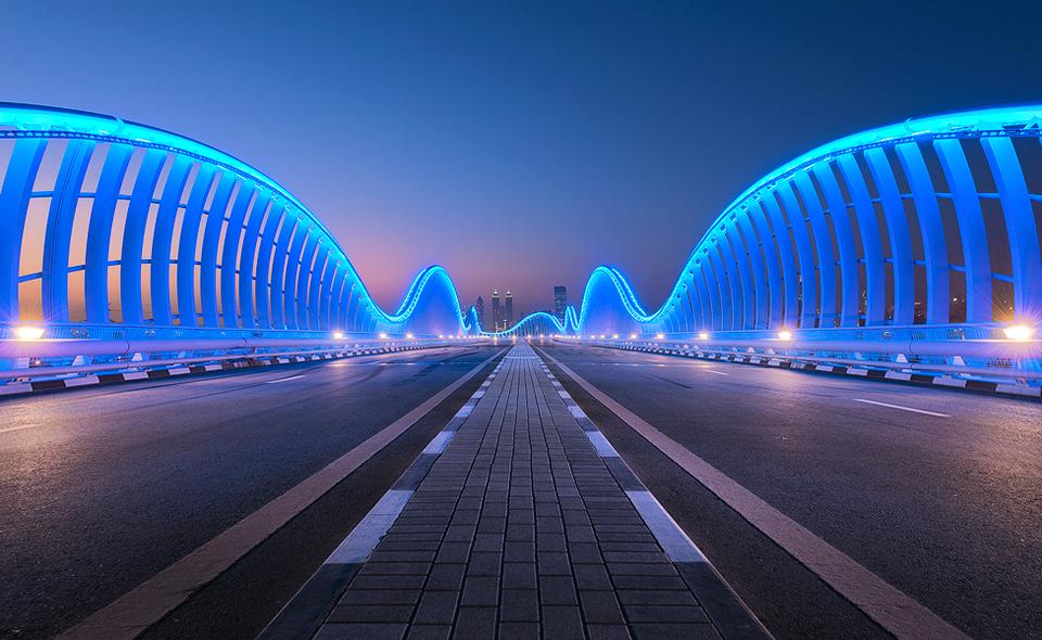 Fit For a Sheik - Meydan Bridge, Dubai - TSL