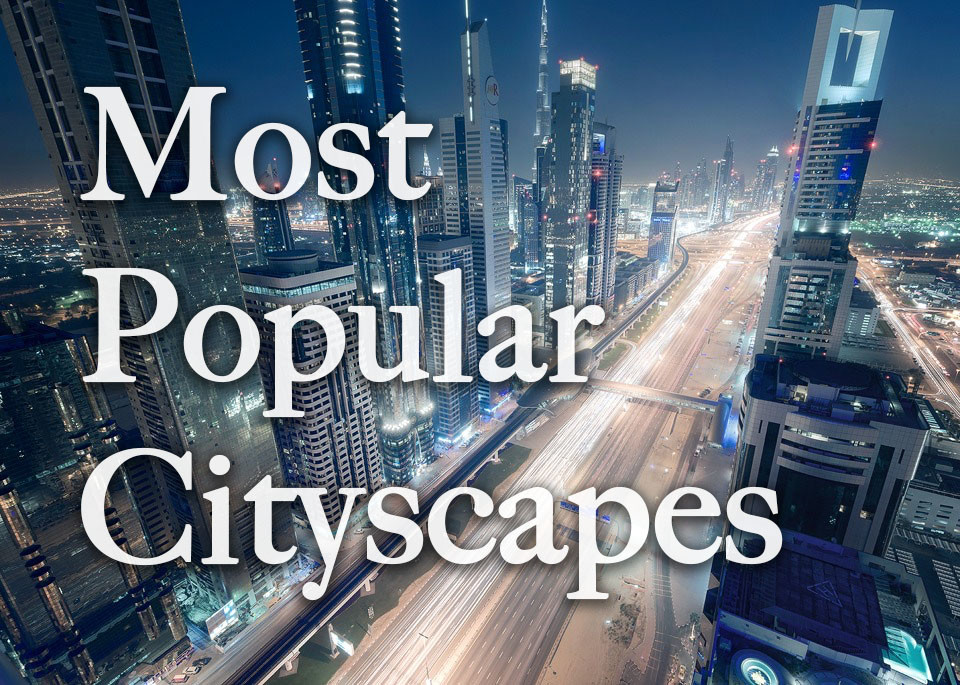 most popular cityscapes
