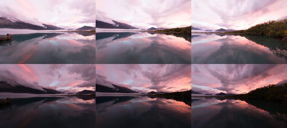 panorama before